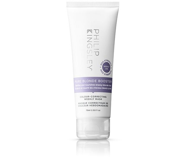 Pure Blonde Booster Colour-Correcting Weekly Mask 75ml (WAS $23, NOW $16)