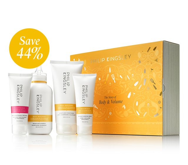The Story of Body & Volume (Worth $122)