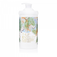 A money-saving 1000ml bottle of the Philip Kingsley Coconut Breeze Elasticizer. Used best as a hair conditioning treatment.