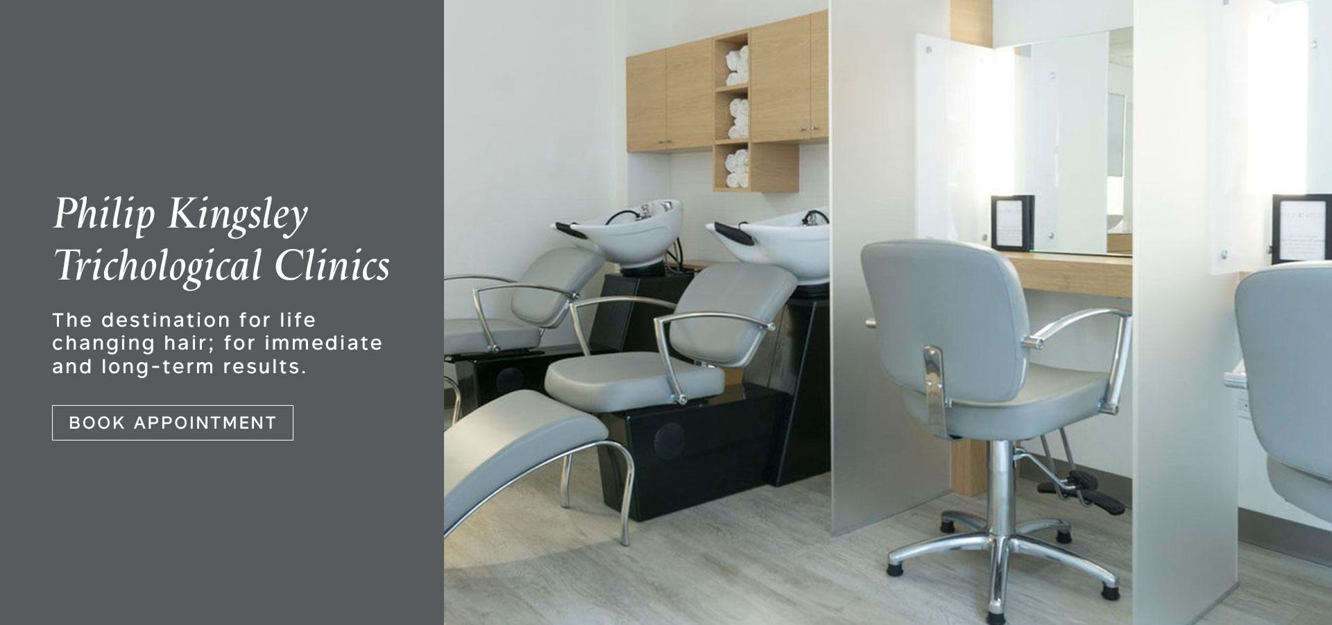Philip Kingsley Trichological clinics, New York & London